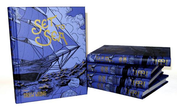 Set to Sea books