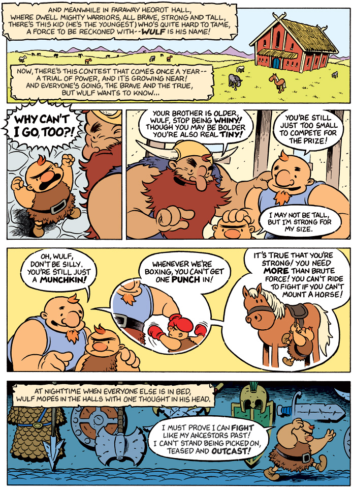 Wulf and Merl: The Ballad of Wulf and Merl – Page 3