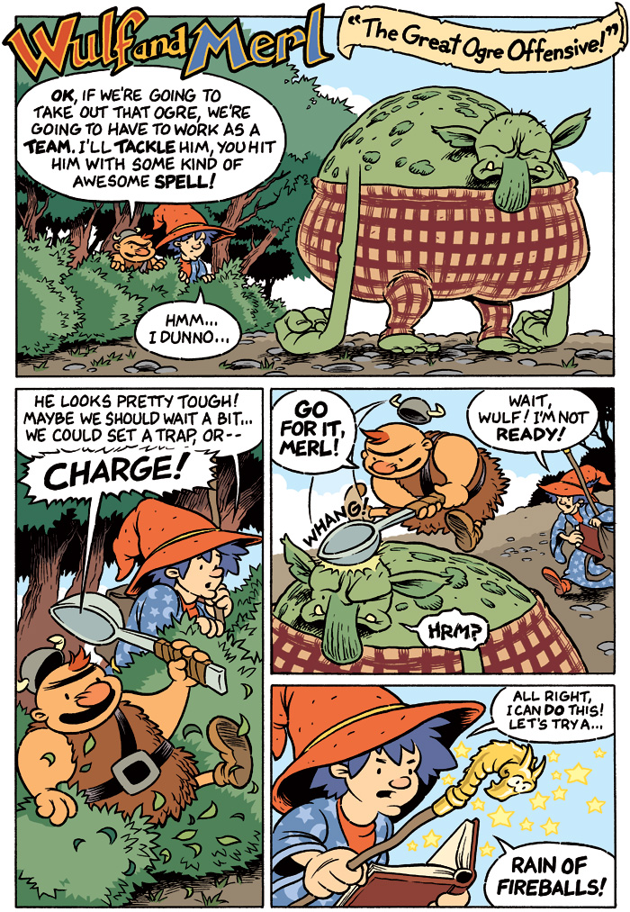Wulf and Merl: The Great Ogre Offensive – Page 1