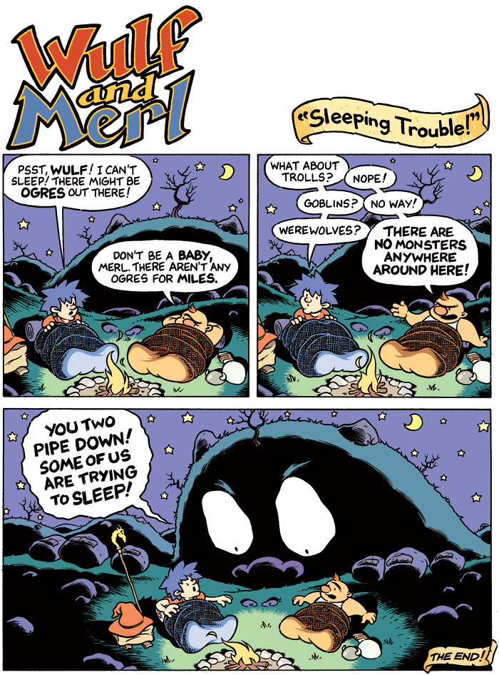 Wulf and Merl: Sleeping Trouble